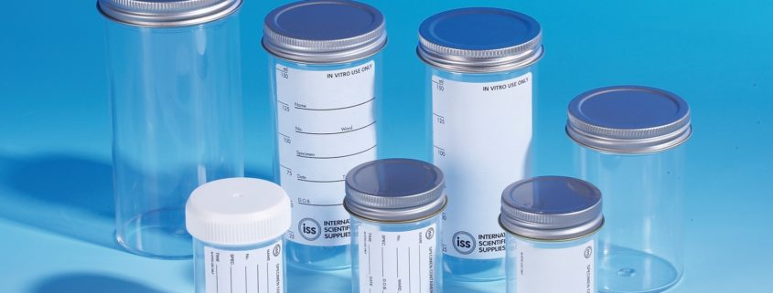 Straight Sided Specimen Containers