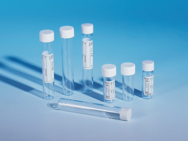 Without Anticoagulant Glass Narrow and Wide Neck Tubes (5-10ml)
