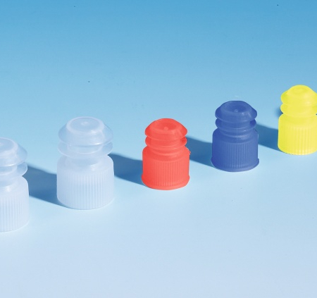 Yellow Plug Cap for 12mm Tube - PTT064 (Pack of 1,000)