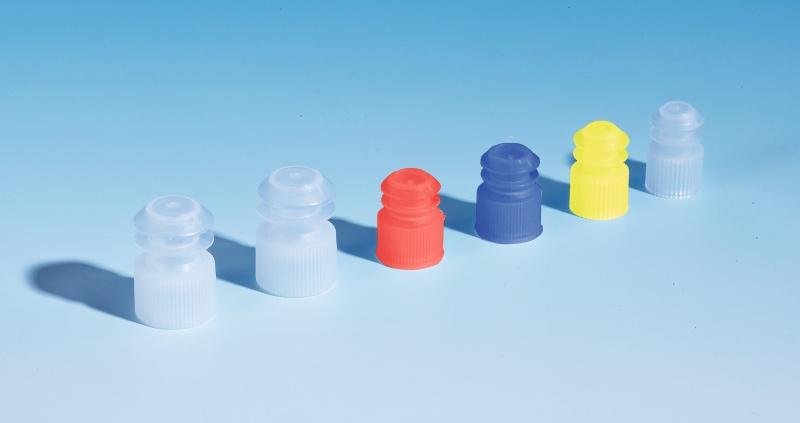 Plug Caps (for plastic rimless test tubes)
