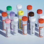 UR2405 (Pack of 78) - Standard Cap Screw Cap Paediatric Blood Collection Tubes 0.5-1.3ml