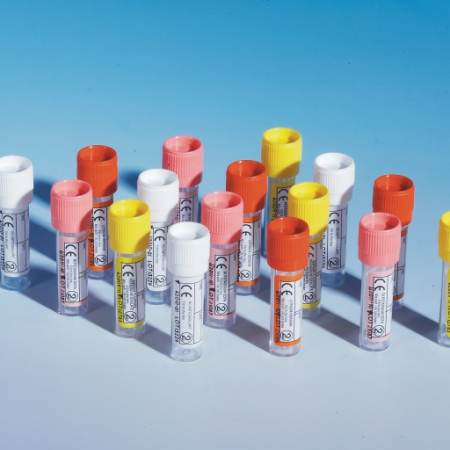 PBT0591 (Pack of 1000) - Push Cap Paediatric Blood Collection Tubes-0.5-2.0ml