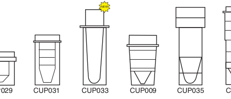 0.25ml Micro Sample Cup - CUP029 (Pack of 1000)