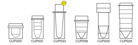 0.5ml Micro Hitachi Cup - CUP033 (Pack of 1000)